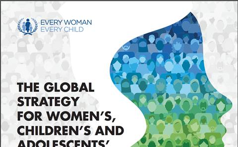 UN Global Strategy on Women's, Children's and Adolescents' Health