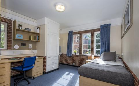 Example of category 2 room in Glen Eyre halls