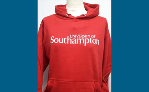 Red Official graduation hoodie