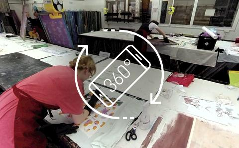 Watch our 360 film or what it is like to be a Winchester School of Art student for the day.