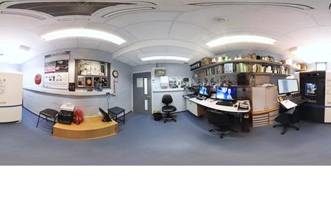 360° Virtual Tour of University of Southampton X-ray Histology Facility - Scanning room LB68