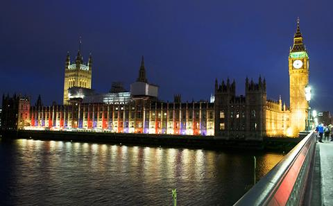 Parliament lit to celebrate HM Queen Elizabeth II's 90th birthday