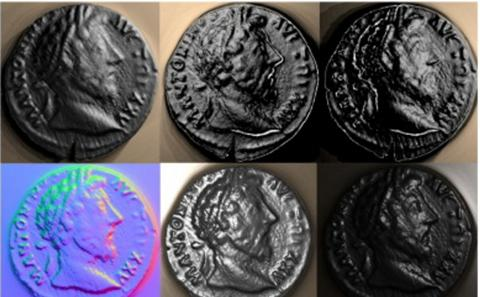 coins showing emperors' head