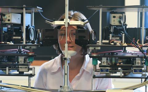 The eye-tracking laboratory