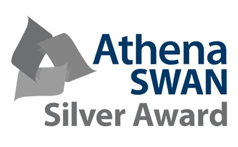 Silver Athena SWAN holder
