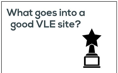 What goes into a good VLE site?
