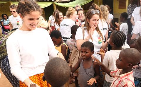BSc Population and Geography Ghana fieldtrip