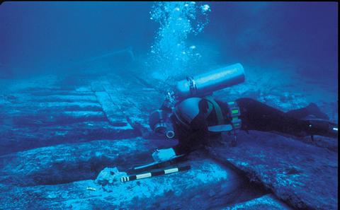 Shipwrecks and submerged worlds