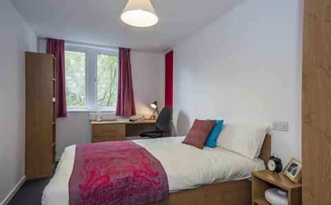 An example of a one bedroom flat