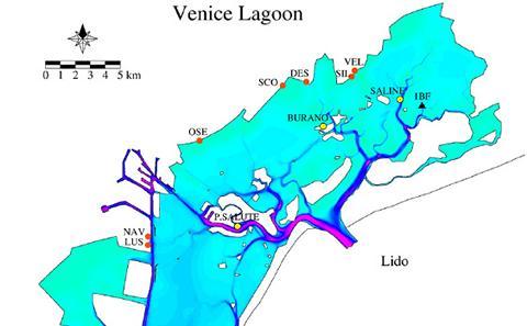 Modelling Venice Lagoon - Coastal Modelling and Informatics