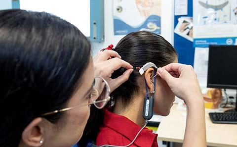 Audiology facilities