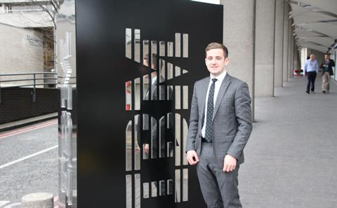 Student doing a placement year at IBM