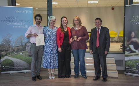 NETSCC receive their award