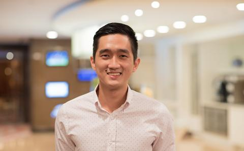 A picture of one of our graduates, Toh Yew Jin