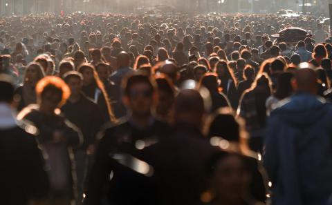 Image of a crowd of people