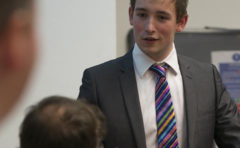 Politics students leading debates