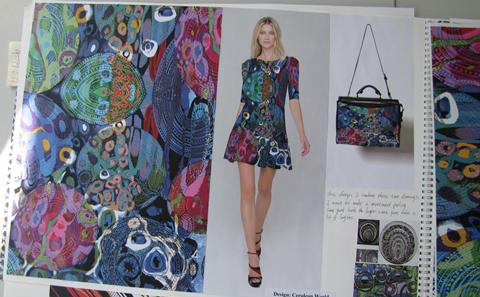 Textiles work