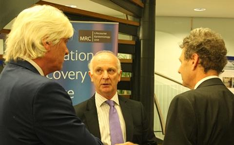 Professor Tim Elliott and Professor Duncan Wingham, CEO, NERC