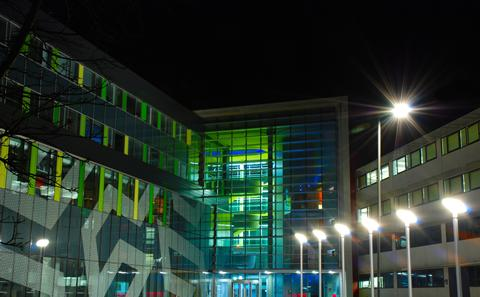 ECS building HIghfield Campus