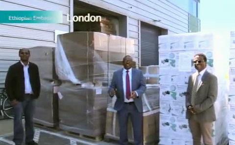 Shipment of respirators