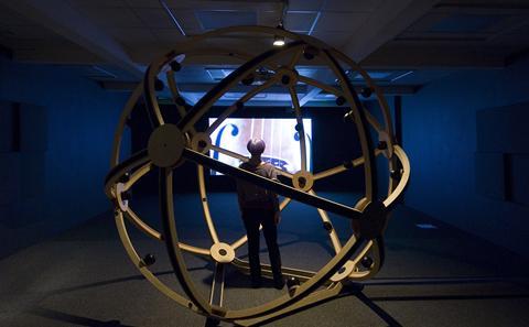 The Aura Satz exhibition