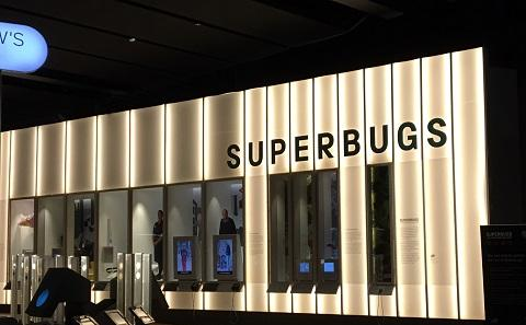Superbugs exhibit at Science Museum