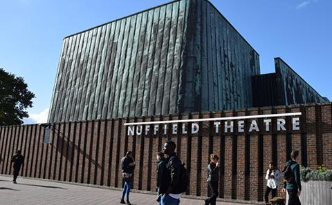 The Nuffield Theatre on Highfield Campus