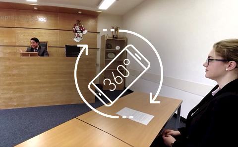 Watch our 360 film or what it is like to be a Business and Law student for the day.