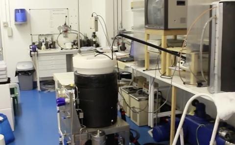 Pressure lab (hyperbaric aquarium)