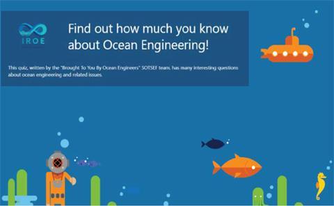 Ocean Engineering quiz
