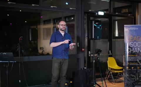Matt Salvage speaker series event