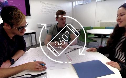 Watch our 360 film or what it is like to be a Social Sciences student for the day.