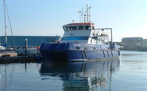 RV Callista, one of our dedicated coastal research vessels used in teaching