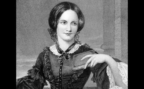 Novelist Charlotte Brontë.