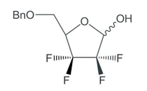 5-[(benzyloxy)methyl]-3,3,4,4-tetrafluorotetrahydrofuran-2-ol