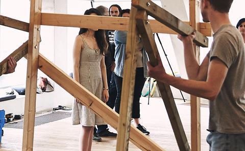 installing a Biennale