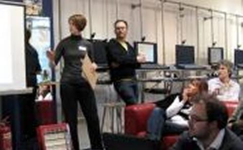 Rachel van Besouw introduces the workshops