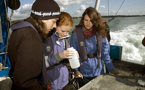 Oceanography undergraduate degree programmes