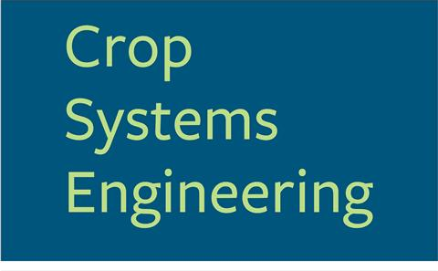 Crop Systems Engineering