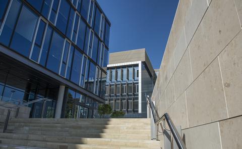 building on bolderwood campus