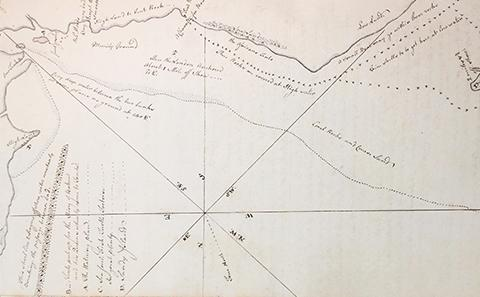 charting sea voyages