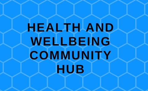 Health and Wellbeing Hub page