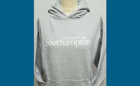 Grey Official graduation hoodie
