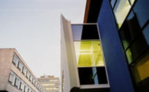 picture of external view of library