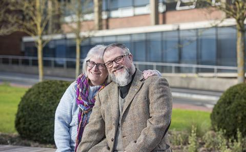 Helen and Neil Robinson both received cochlear implants