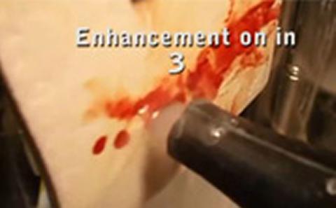 Starstream washing off blood