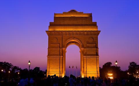The India Gate New Delhi