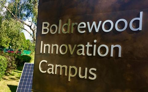 Boldrewood Campus sign