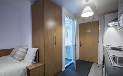 An example of a category 1 studio flat