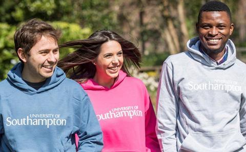 University of Southampton hoodie